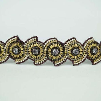 Pink Pewter Headbands, The Cassidy
