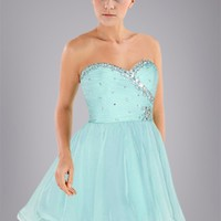 Lovely Mint Princess Sweet 16 Dress with Sweetheart Neckline and Beads, Quality Unique Sweet 16 Dresses - Dressale.com