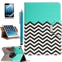 Pandamimi ULAK(TM) 360 Rotating Stand Card Holder Case Cover with Auto Sleep/Wake Function for Apple iPad Mini Retina