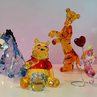 Swarovski Disney New Winnie the Pooh Whole Set, Mint!