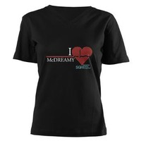 I Heart McDREAMY - Grey's Anatomy Women's V-Neck D> Grey's Anatomy TV Store