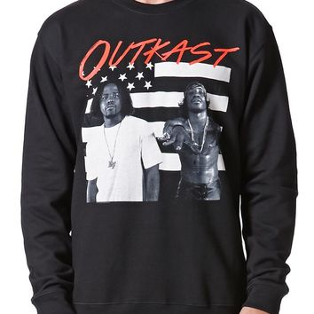 FEA Merchandising Outkast Crew Fleece - Mens Hoodie - Black