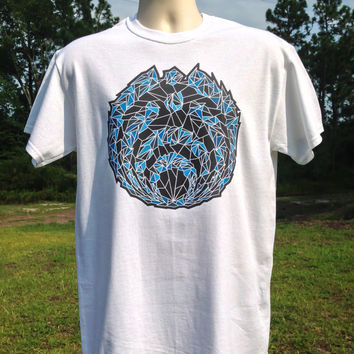 Blue Dream Space Nectar Bassnectar T shirt