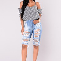 Mar Vista Bermuda Shorts - Light Blue