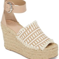 Marc Fisher LTD Andrew Espadrille Wedge Sandal (Women) | Nordstrom