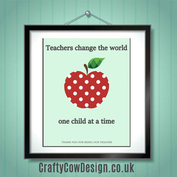 It takes a big heart to teach little minds teacher gift, gift for teacher,personalized teacher gift unique gifts INSTANT DOWNLOAD print 8x10