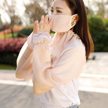 Anti-UV Sleeves to Cover Arms Gloves