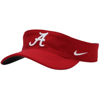 Alabama Crimson Tide Nike Performance Training Visor – Crimson