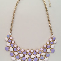 Lavender Skies in Paris Necklace