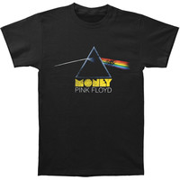 Pink Floyd Men's  Money T-shirt Black Rockabilia