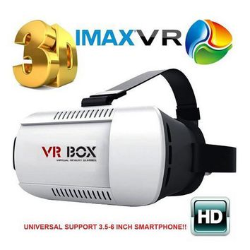 """3D VR Virtual Reality Headset 3D Glasses for 4.7""""-6.0"""" Smart Phone"""