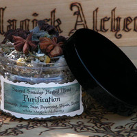 Purification Sacred Smudging Herbs . Meditation, Blessings, Release Negative Energy, Renewal of Sacred Space, Spirituality