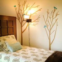 Winter Forest wall decal