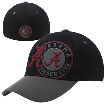 Top of the World Alabama Crimson Tide Idol One-Fit Flex Hat - Black