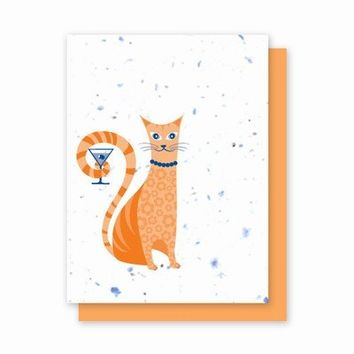 Catini Plantable Greeting Cards - 4 Pack
