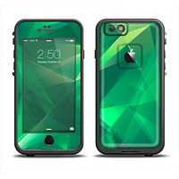 The Shiny Vector Green Crystals Apple iPhone 6 LifeProof Fre Case Skin Set