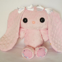 Light Pink Rainbow Plush Bunny PatterBunny