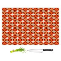 Cutting Boards from DiaNoche Designs by Julia Grifol - Circles Red