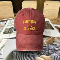 Harry Potter Gryffindor Quidditch hat Black Pink White - Baseball Cap, Dad Hat Baseball Hat Baseball Cap , Low-Profile Baseball Cap Tumblr