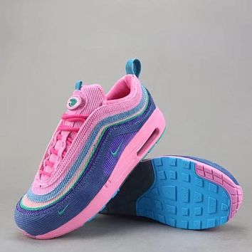 Trendsetter Nike Air Max 1/97 Vf Sw  Women Men Fashion Casual  Sneakers Sport Shoes