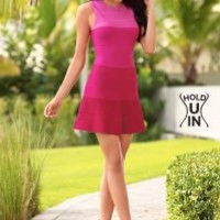 Pink Multi (PKMU) Hold U In Ombre Dress