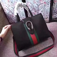 GUCCI DIONYSUS LEATHER HANDBAG SHOULDER BAG