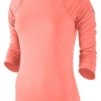 Nike Women's Autumn Baseline 3/4 Sleeve Top