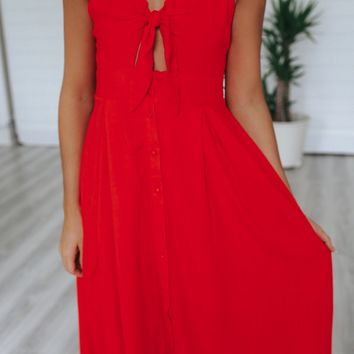 Lovers Lane Midi Dress