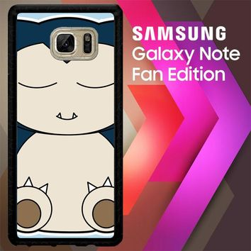 Snorlax Or Kabigon Y0762 Samsung Galaxy Note FE Fan Edition Case
