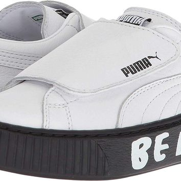 PUMA Kids Unisex Platform Strap SM PS (Little Kid)