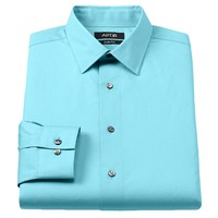 Apt. 9 Slim-Fit Stretch Spread-Collar Dress Shirt