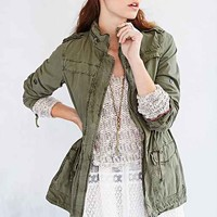 Levi's Parachute Cotton Parka- Army Green