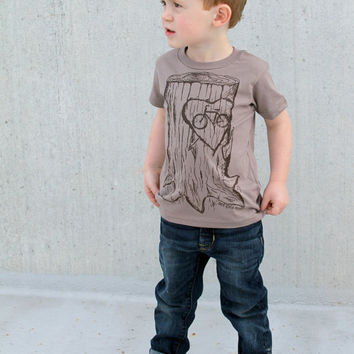 Faux Bois Bicycle Children T Shirt  Organic by darkcycleclothing