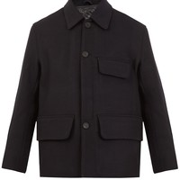 Melbin detachable-lining wool coat | Acne Studios | MATCHESFASHION.COM US