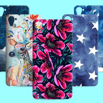 Oil Painting TPU Shell For HTC Desire Eye 728 826 820 828 830 Simple Natural Soft Silicone Case For HTC desire 825 820