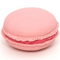 pink macaroon eraser French Pastry from Japan - Dessert Eraser - Eraser - Stationery