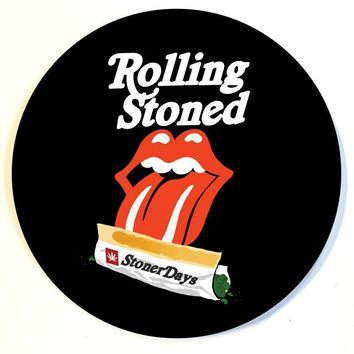 ROLLING STONED DAB PAD