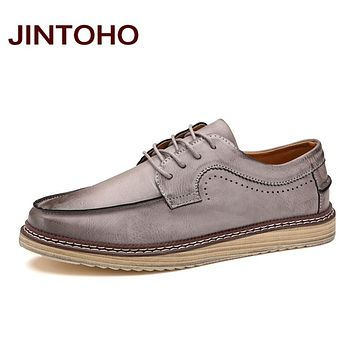 Fashion Mens Shoes Handmade Breathable Men Leather Shoes Quality Male Moccasins Classic Casual Men Shoes