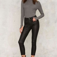 RES Denim Kitty Skinny Crop Jean - Coated