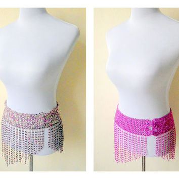 belly dance beaded hip belts