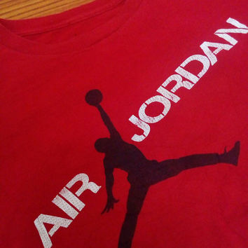 Michel jordan basketball legend  vintage jordan air