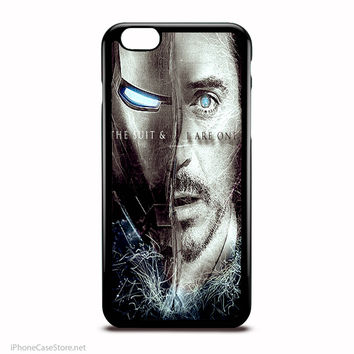 Iron Man The Avengers The Suit And I Are One Marvel Comics Characters Case For Iphone Case
