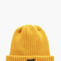 Boys Ribbed Turn Up Beanie | Boohoo