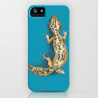 Leopard Gecko iPhone & iPod Case by Lane Scarano