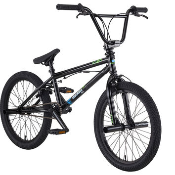 "2016 Haro Leucadia DLX 18.5"" Bmx Bike Gloss Black"