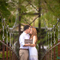 Save The Date Wedding Sign - Rustic Wedding Photo Prop - (WD-19)