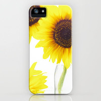 Three Sunflowers  iPhone Case by Tanja Riedel | Society6