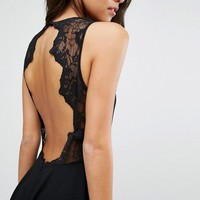 Samsoe & Samsoe Lace Back Dress at asos.com