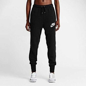 VONE05 Nike' Classic Knitting Trousers Autumn Slim Sweatpants