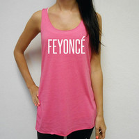 Eco FEYONCE Tank Top. Racerback Yoga Tank Top. Gym Workout Tank. Flowy Workout Tank. No Worries Tank. Feyonce Tank. FEYONCE